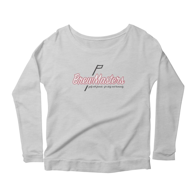 Brewmasters_Golf_REV Women's Scoop Neck Longsleeve T-Shirt by Brian Harms