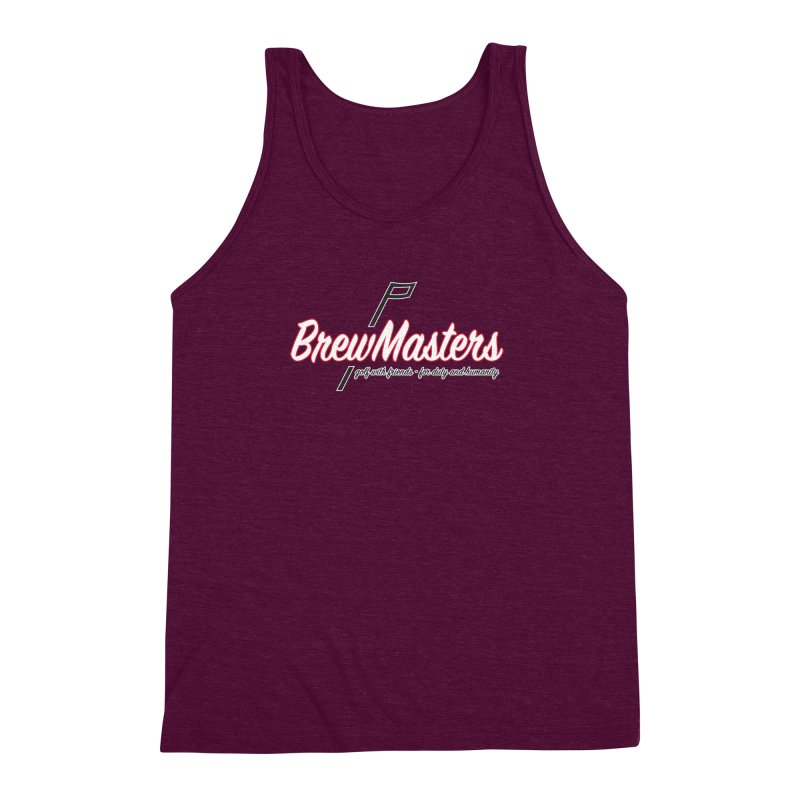 Brewmasters_Golf_REV Men's Triblend Tank by Brian Harms
