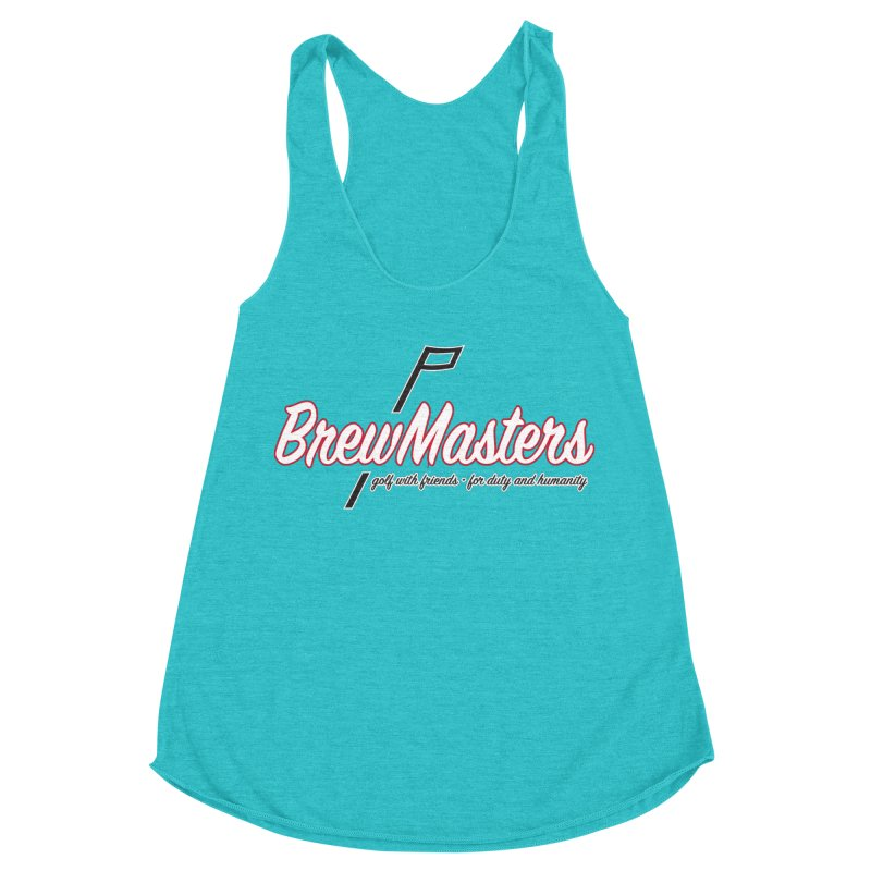 Brewmasters_Golf_REV Women's Racerback Triblend Tank by Brian Harms