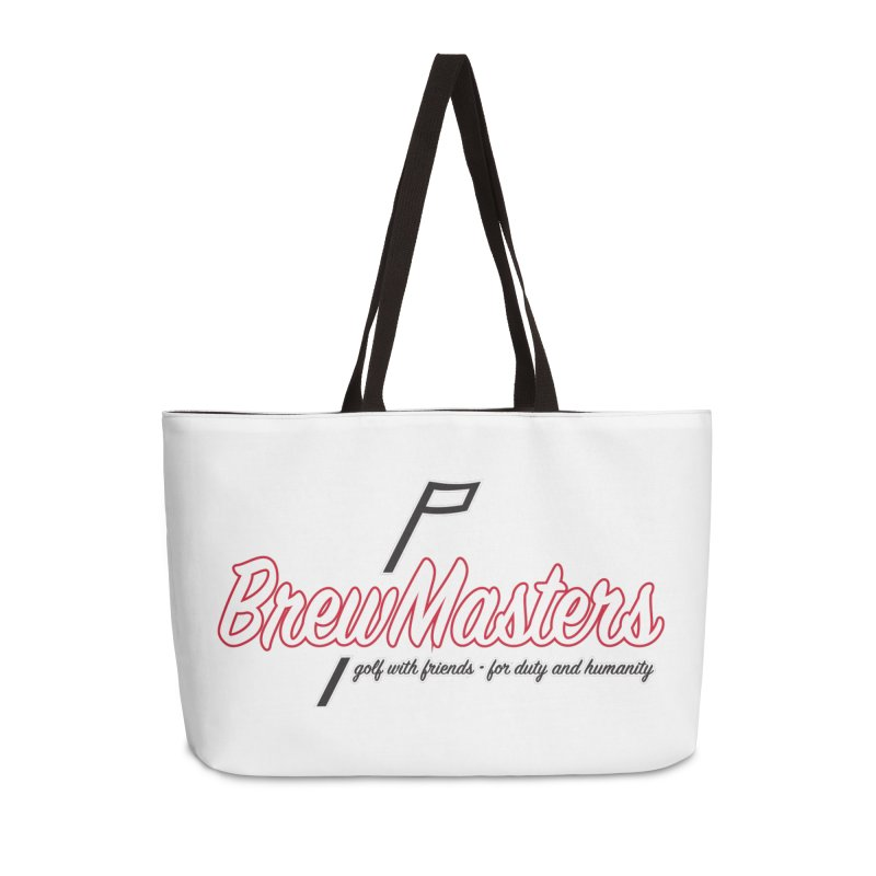 Brewmasters_Golf_REV Accessories Weekender Bag Bag by Brian Harms