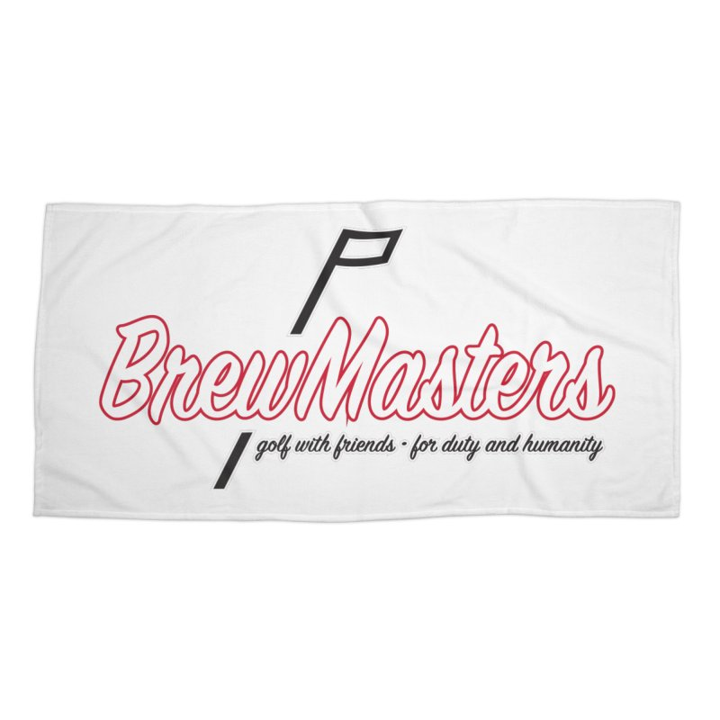 Brewmasters_Golf_REV Accessories Beach Towel by Brian Harms