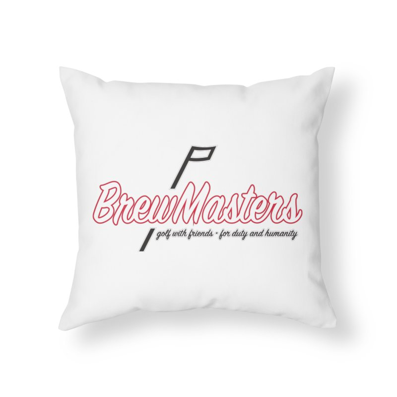 Brewmasters_Golf_REV Home Throw Pillow by Brian Harms