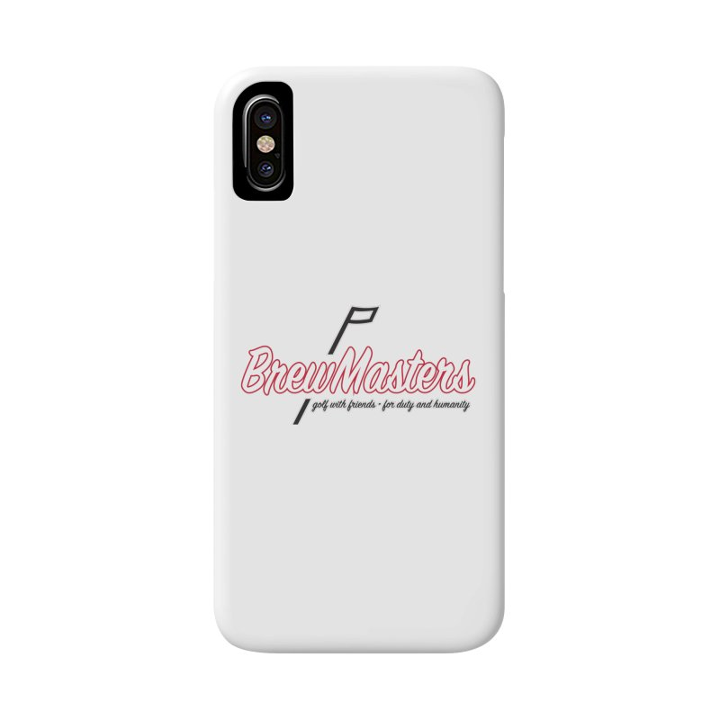 Brewmasters_Golf_REV Accessories Phone Case by Brian Harms