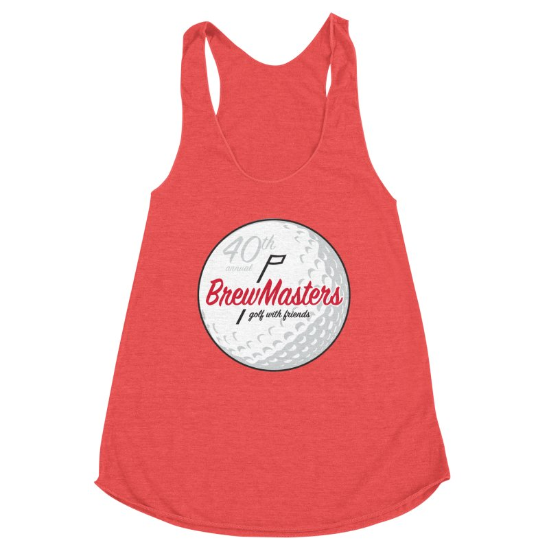 Brewmasters_40th_Annual_2 Women's Racerback Triblend Tank by Brian Harms