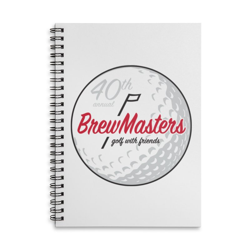 Brewmasters_40th_Annual_2 Accessories Lined Spiral Notebook by Brian Harms