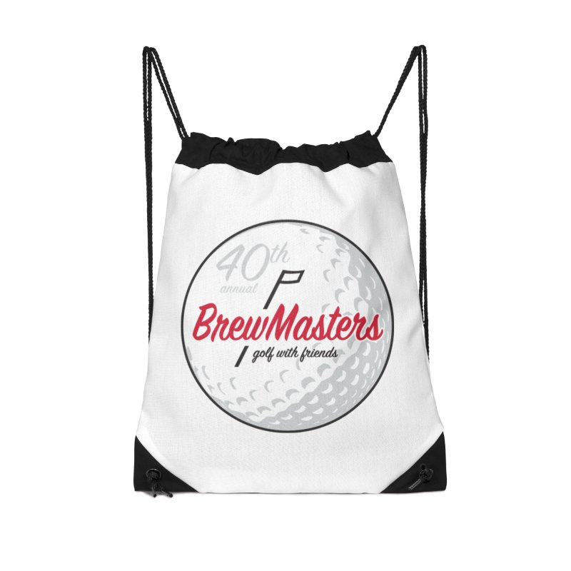 Brewmasters_40th_Annual_2 Accessories Drawstring Bag Bag by Brian Harms