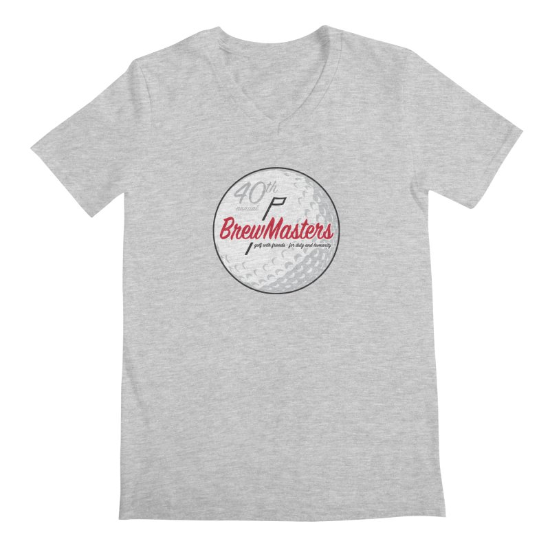 Brewmasters_40th_Annual_3 Men's Regular V-Neck by Brian Harms