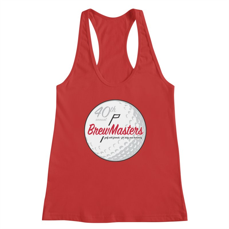 Brewmasters_40th_Annual_3 Women's Racerback Tank by Brian Harms