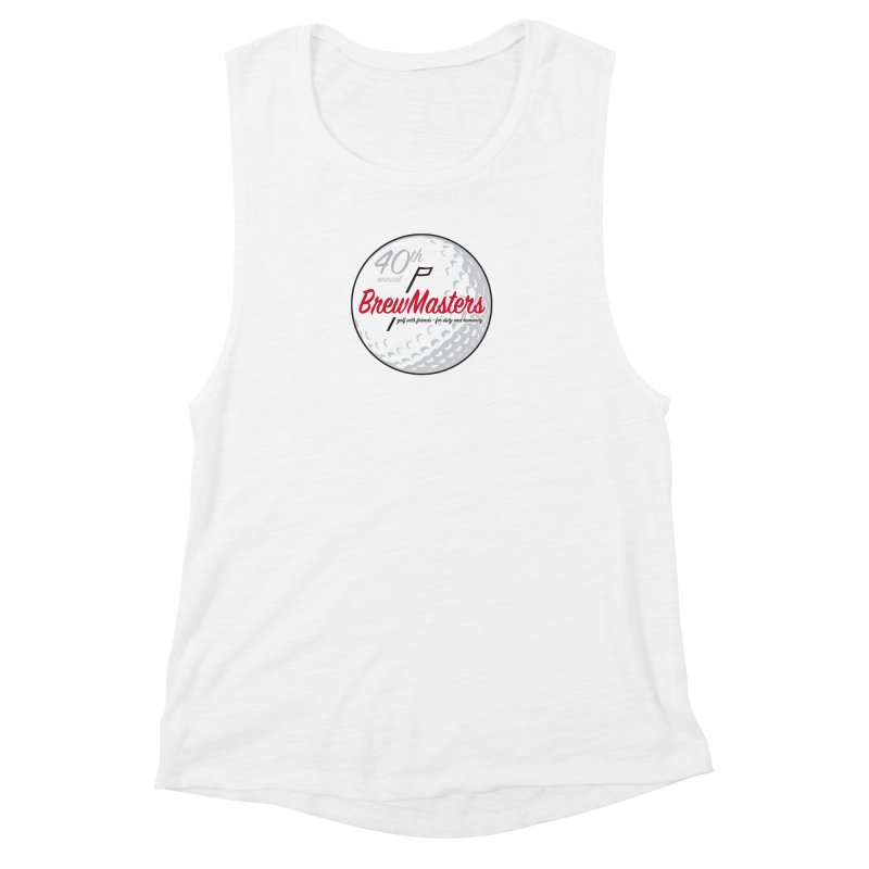 Brewmasters_40th_Annual_3 Women's Muscle Tank by Brian Harms