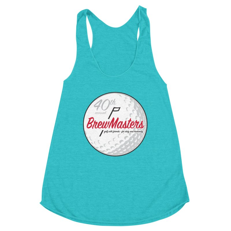 Brewmasters_40th_Annual_3 Women's Racerback Triblend Tank by Brian Harms