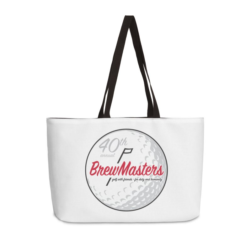 Brewmasters_40th_Annual_3 Accessories Weekender Bag Bag by Brian Harms