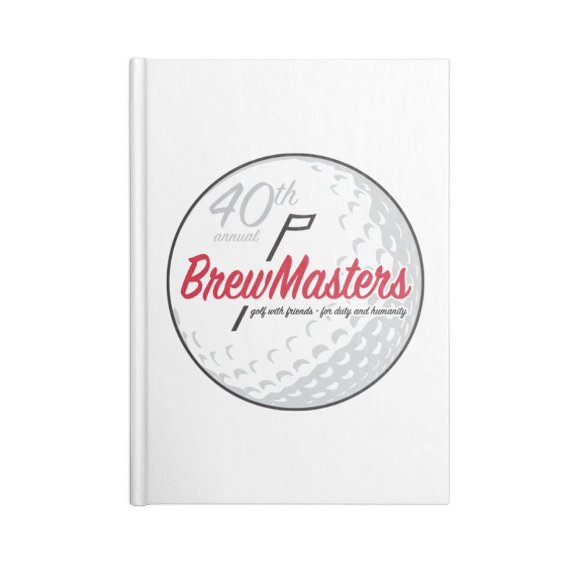 Brewmasters_40th_Annual_3 Accessories Lined Journal Notebook by Brian Harms