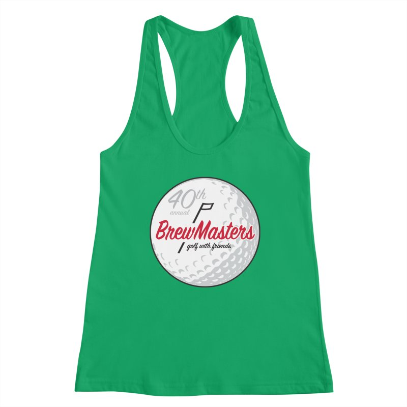 Brewmasters_40th_Annual_4 Women's Racerback Tank by Brian Harms