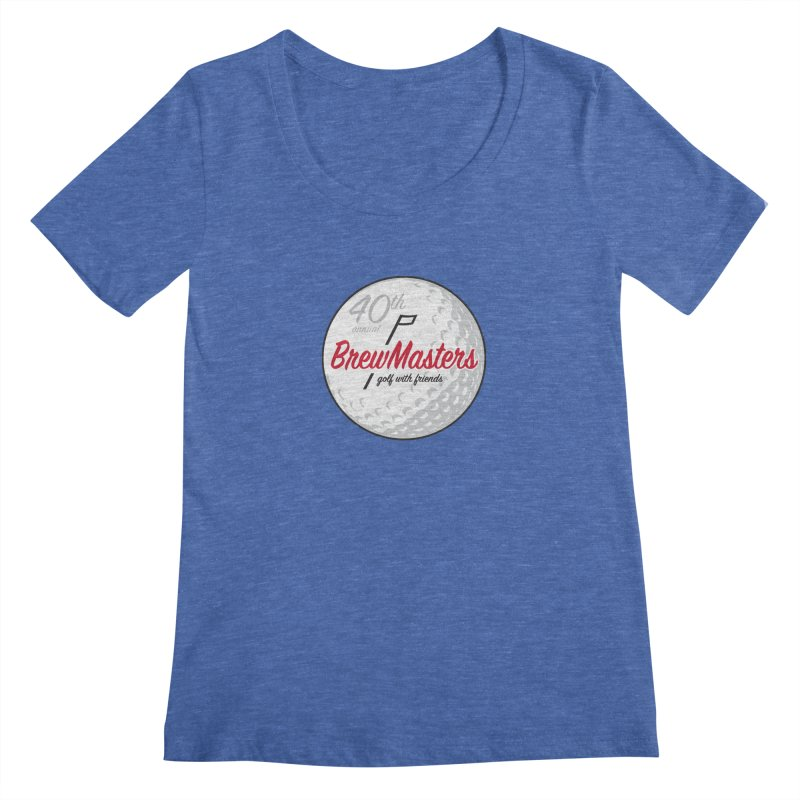 Brewmasters_40th_Annual_4 Women's Regular Scoop Neck by Brian Harms