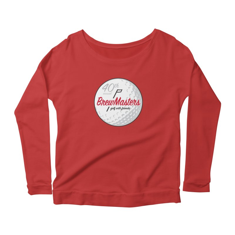 Brewmasters_40th_Annual_4 Women's Scoop Neck Longsleeve T-Shirt by Brian Harms