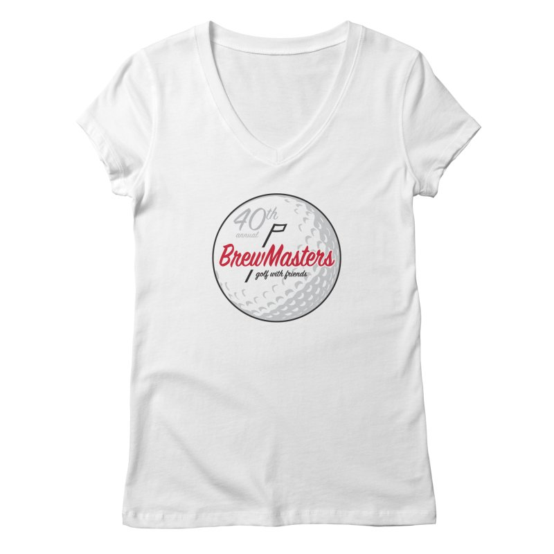 Brewmasters_40th_Annual_4 Women's Regular V-Neck by Brian Harms