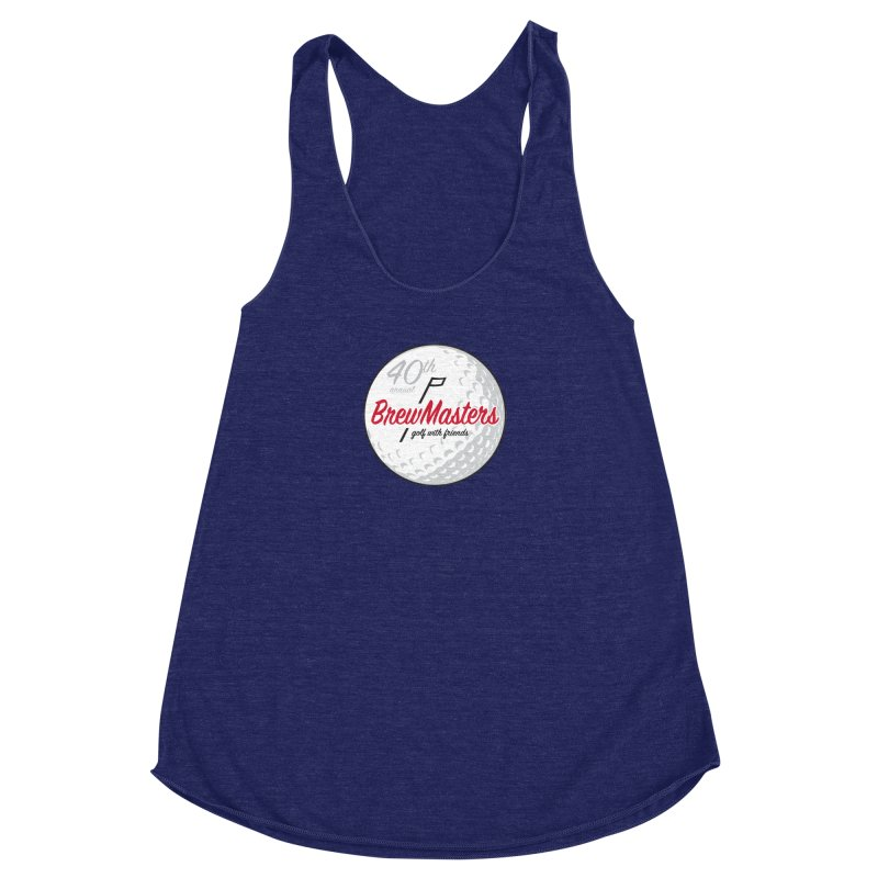 Brewmasters_40th_Annual_4 Women's Racerback Triblend Tank by Brian Harms