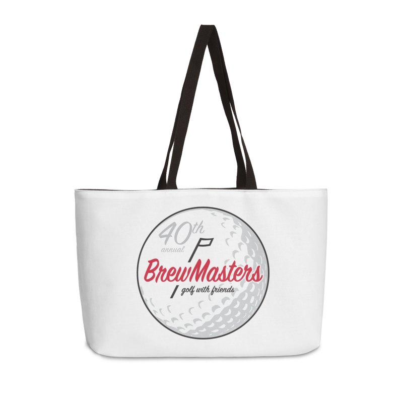 Brewmasters_40th_Annual_4 Accessories Weekender Bag Bag by Brian Harms
