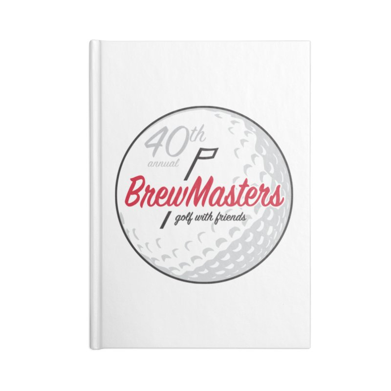 Brewmasters_40th_Annual_4 Accessories Lined Journal Notebook by Brian Harms