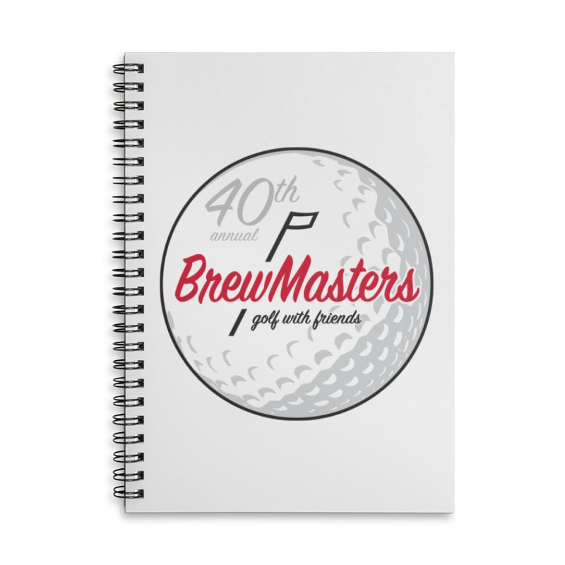 Brewmasters_40th_Annual_4 Accessories Lined Spiral Notebook by Brian Harms