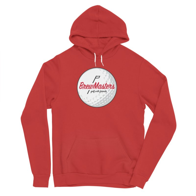 Brewmasters_Golf_with_Friends Women's Pullover Hoody by Brian Harms