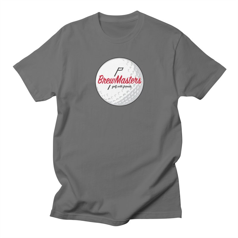 Brewmasters_Golf_with_Friends Men's T-Shirt by Brian Harms