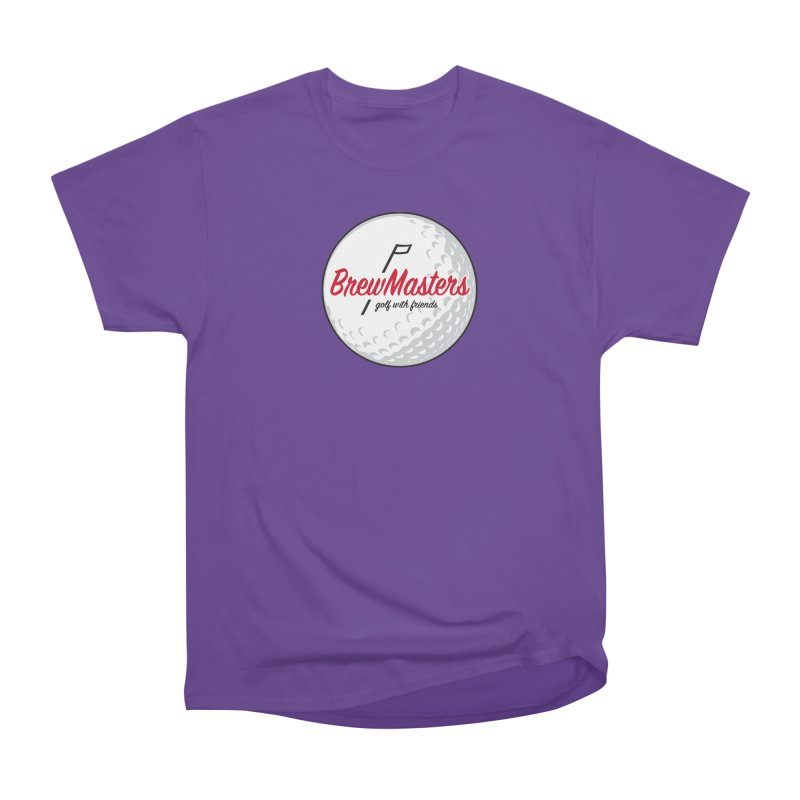 Brewmasters_Golf_with_Friends Women's Heavyweight Unisex T-Shirt by Brian Harms