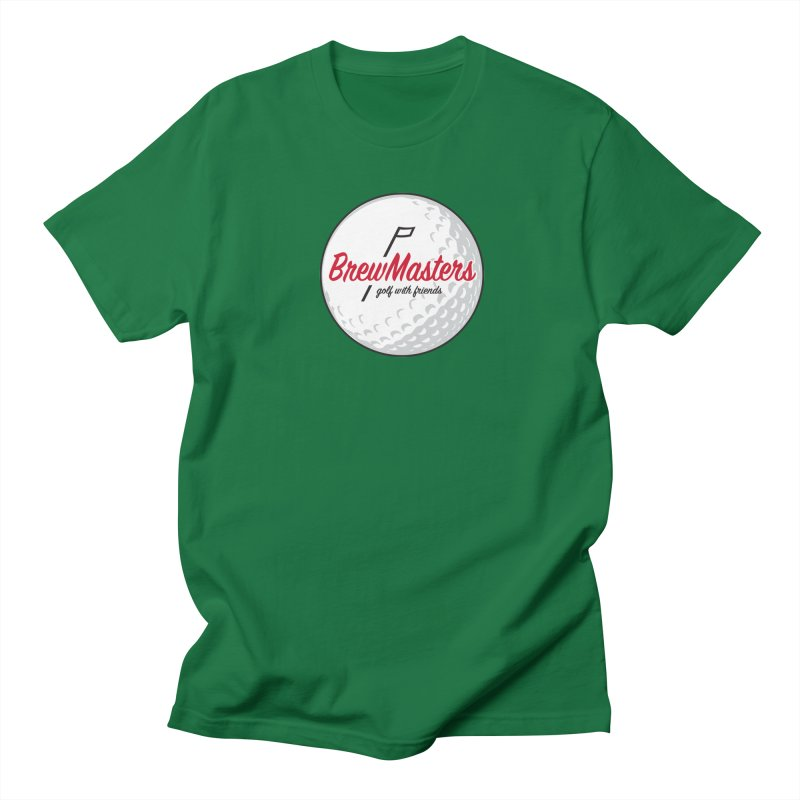 Brewmasters_Golf_with_Friends Men's Regular T-Shirt by Brian Harms
