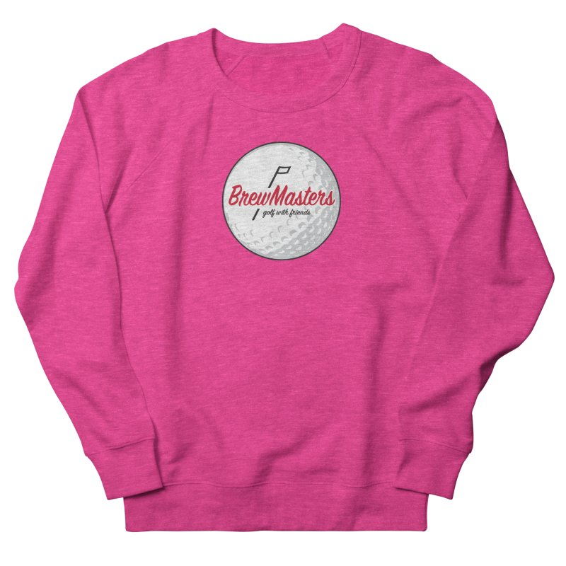 Brewmasters_Golf_with_Friends Women's French Terry Sweatshirt by Brian Harms