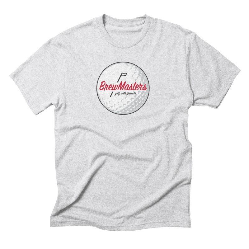 Brewmasters_Golf_with_Friends Men's Triblend T-Shirt by Brian Harms