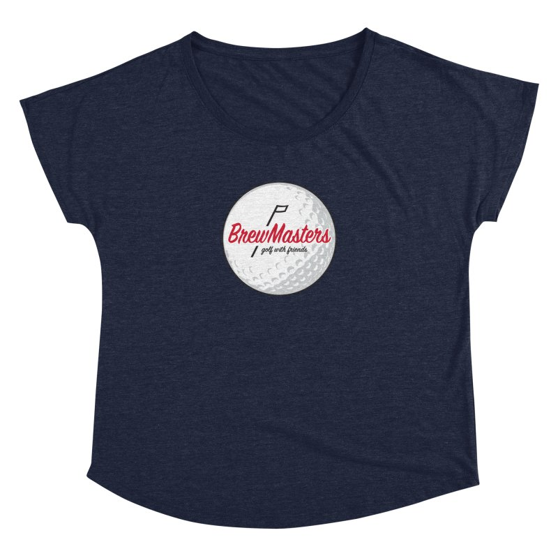 Brewmasters_Golf_with_Friends Women's Dolman Scoop Neck by Brian Harms