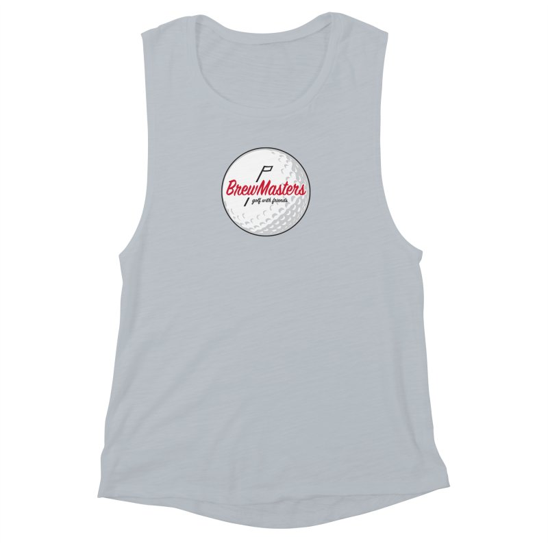 Brewmasters_Golf_with_Friends Women's Muscle Tank by Brian Harms