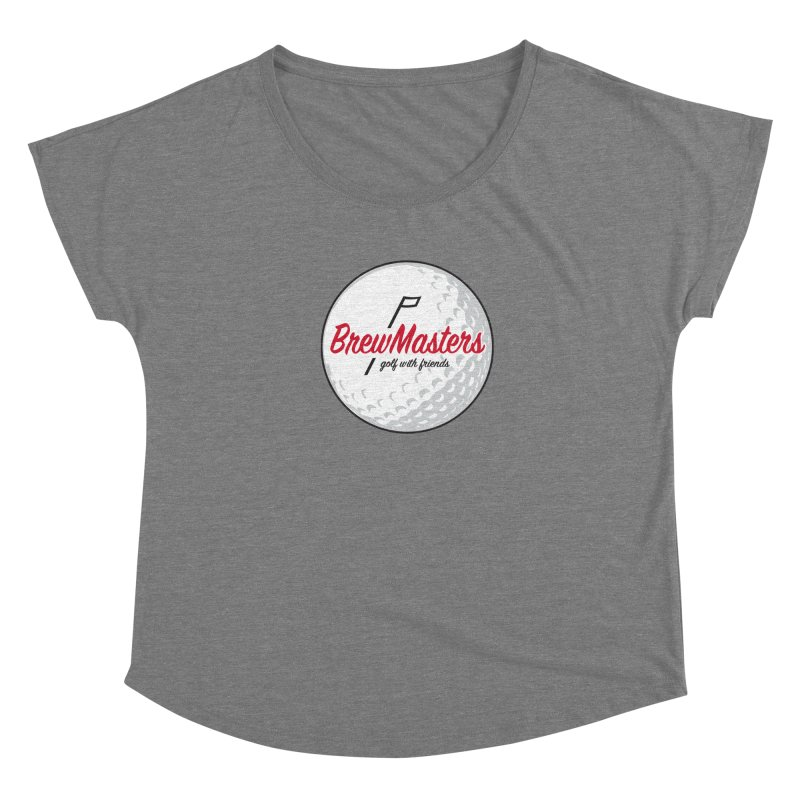 Brewmasters_Golf_with_Friends Women's Scoop Neck by Brian Harms