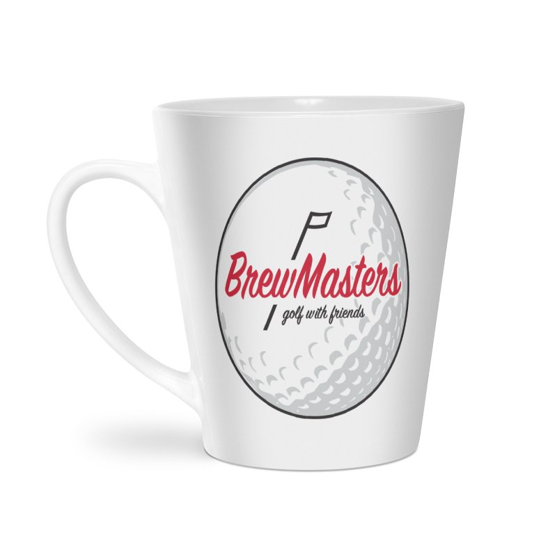 Brewmasters_Golf_with_Friends Accessories Latte Mug by Brian Harms