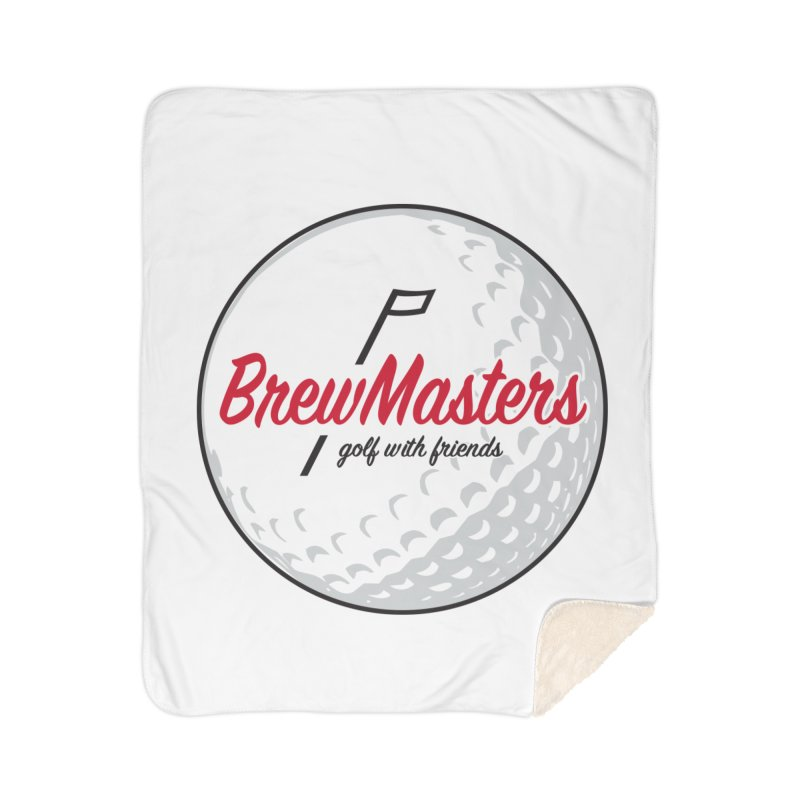 Brewmasters_Golf_with_Friends Home Sherpa Blanket Blanket by Brian Harms