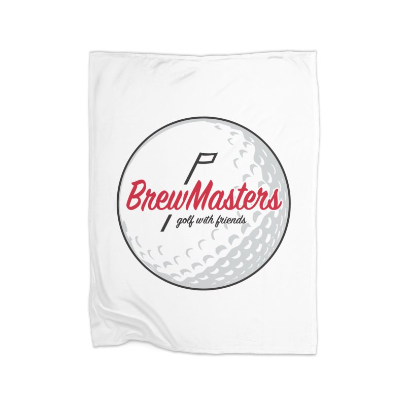 Brewmasters_Golf_with_Friends Home Fleece Blanket Blanket by Brian Harms
