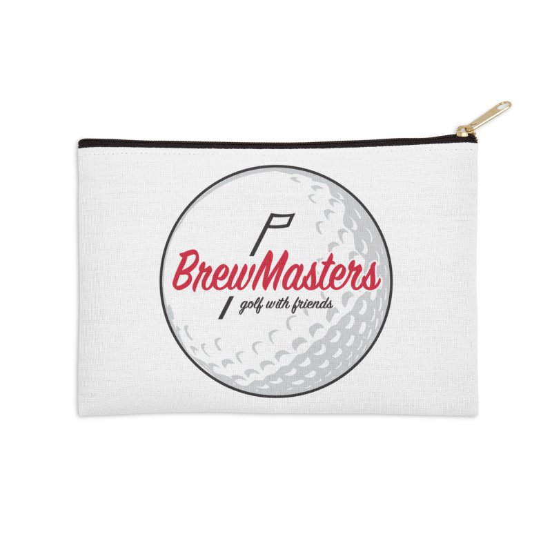 Brewmasters_Golf_with_Friends Accessories Zip Pouch by Brian Harms