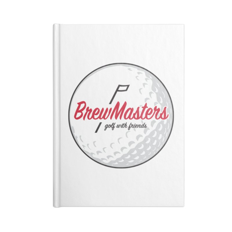Brewmasters_Golf_with_Friends Accessories Notebook by Brian Harms