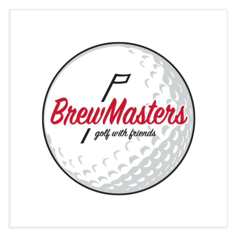 Brewmasters_Golf_with_Friends Home Fine Art Print by Brian Harms