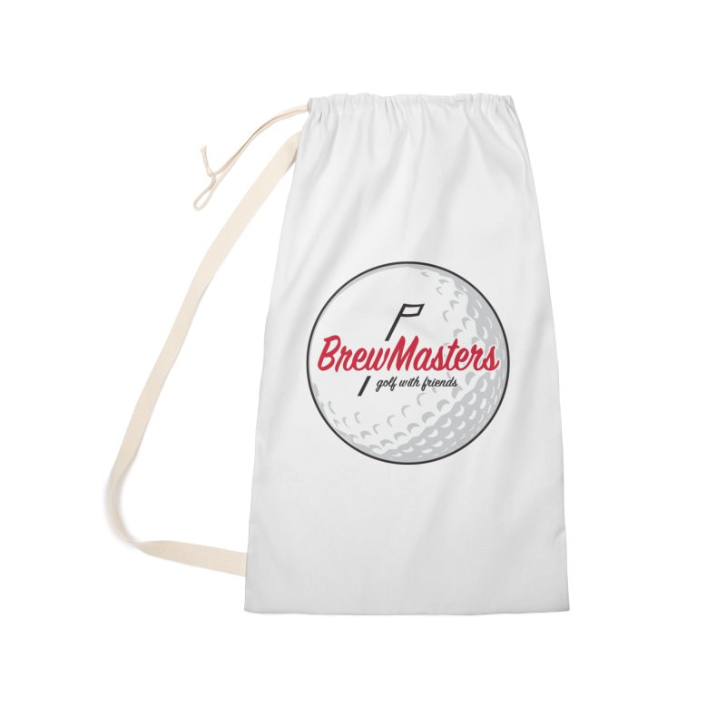 Brewmasters_Golf_with_Friends Accessories Laundry Bag Bag by Brian Harms