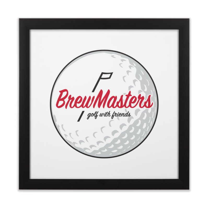 Brewmasters_Golf_with_Friends Home Framed Fine Art Print by Brian Harms
