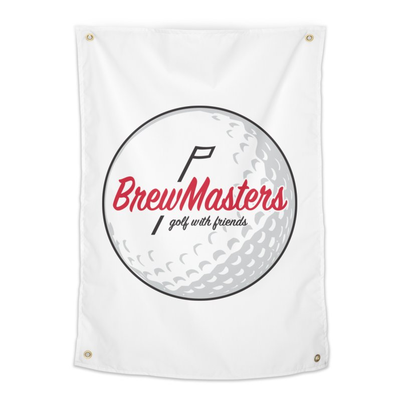 Brewmasters_Golf_with_Friends Home Tapestry by Brian Harms