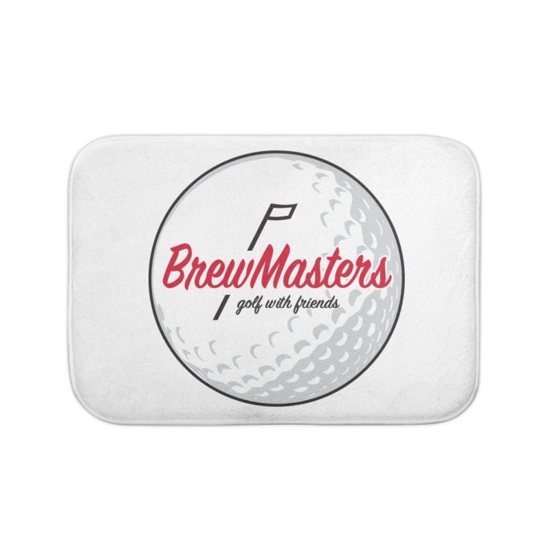Brewmasters_Golf_with_Friends Home Bath Mat by Brian Harms