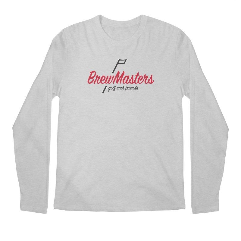 Brewmasters_Golf_3 Men's Regular Longsleeve T-Shirt by Brian Harms