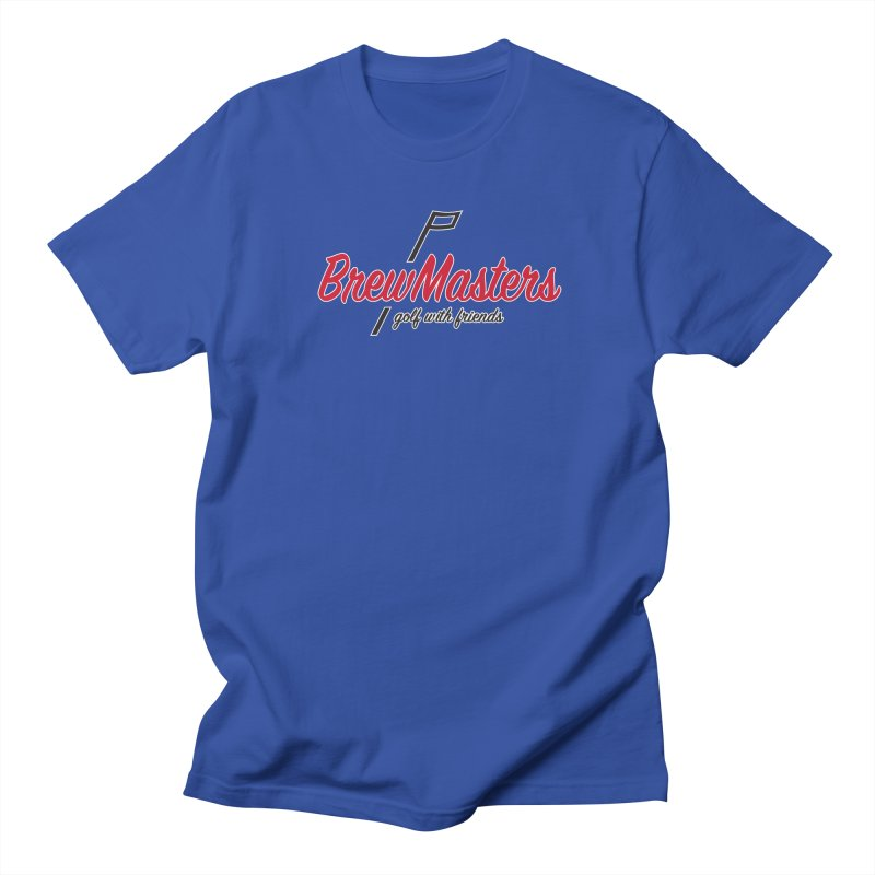 Brewmasters_Golf_3 Men's Regular T-Shirt by Brian Harms