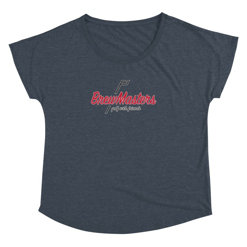 Brewmasters_Golf_3 Women's Dolman Scoop Neck by Brian Harms