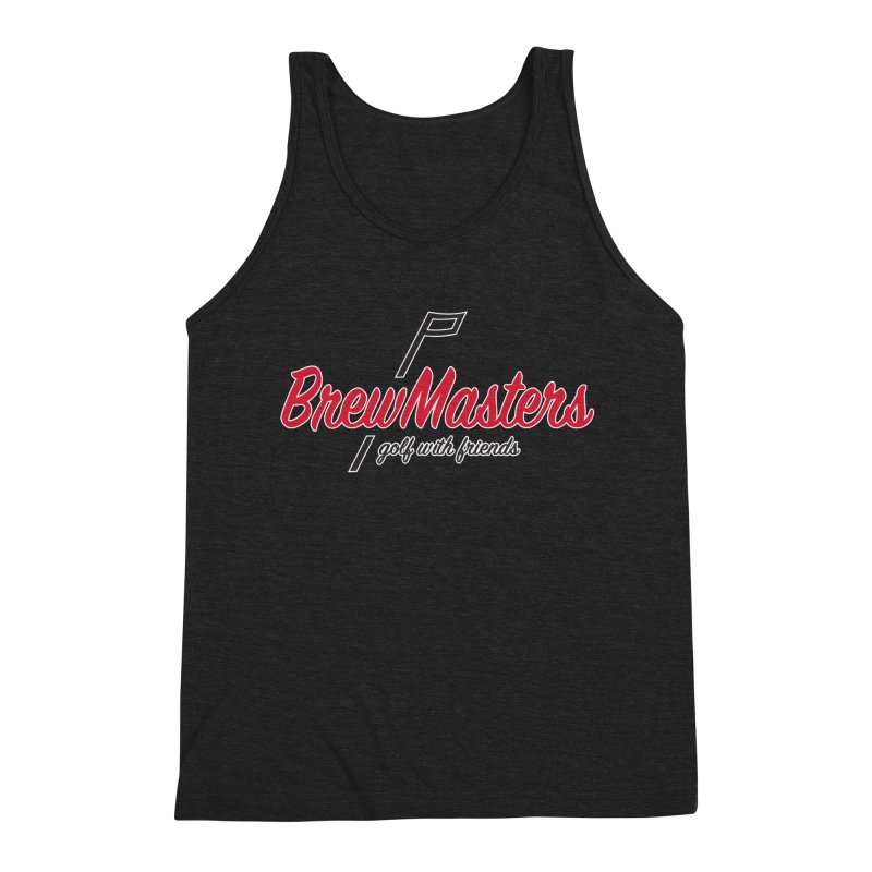 Brewmasters_Golf_3 Men's Triblend Tank by Brian Harms