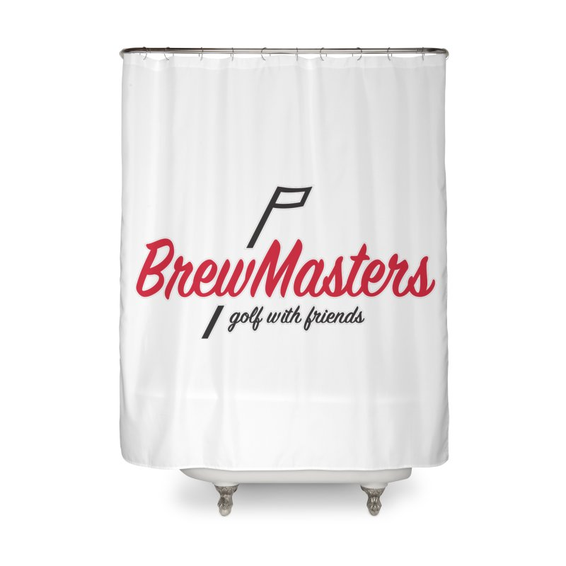 Brewmasters_Golf_3 Home Shower Curtain by Brian Harms