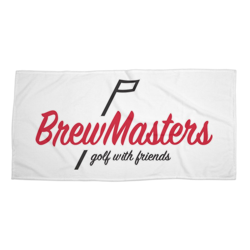 Brewmasters_Golf_3 Accessories Beach Towel by Brian Harms