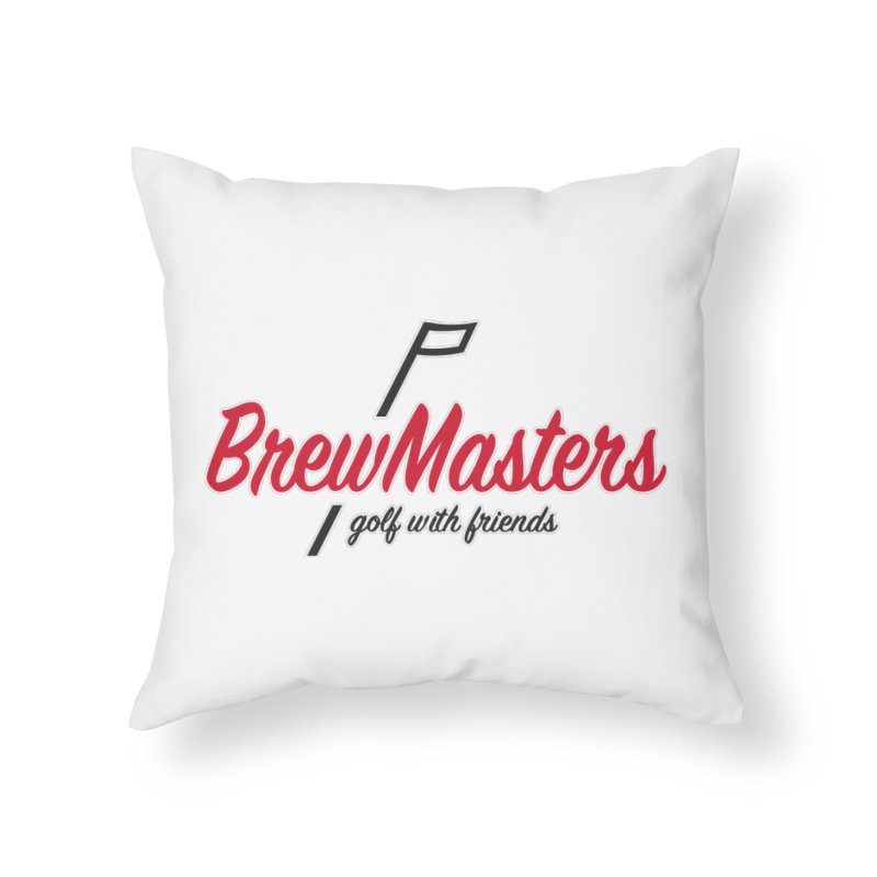 Brewmasters_Golf_3 Home Throw Pillow by Brian Harms